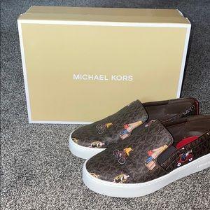Michael Kors collectible monogram shoes
